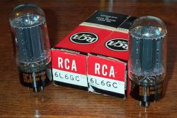 RCA 6L6GC Blackplate