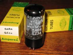 Amperex Bugle Boy Mullard GZ34 5AR4
