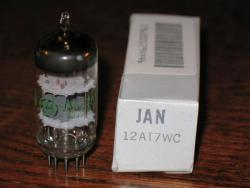 JAN GE 12AT7WC 6201