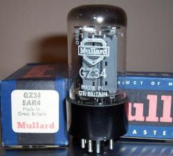 Mullard 5AR4 GZ34