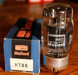 Mullard MO Valve KT88