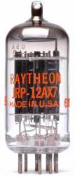 Raytheon 12AX7 Blackplate