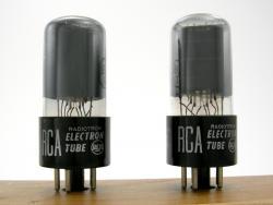 RCA blackplate 6V6GT