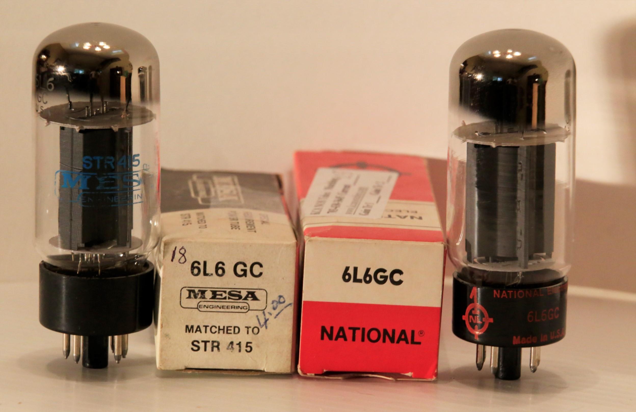 Nos Sylvania 6l6gc Str Kca Nos Tubes Amplifier Repair